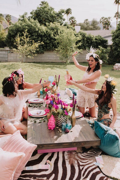 bachelorette party diy staycation maid of honor