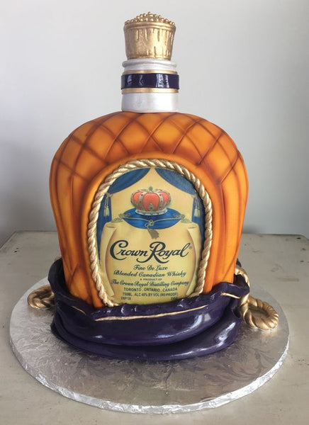 crown royal grooms cake