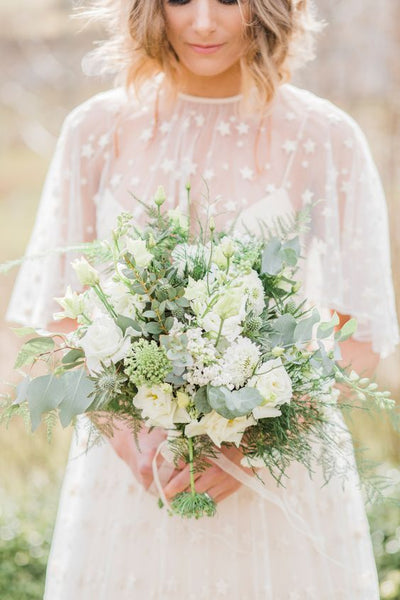 greenhouse botanical wedding bouquet floral flowers