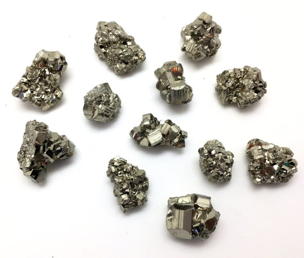 wedding healing crystals pyrite groomsman