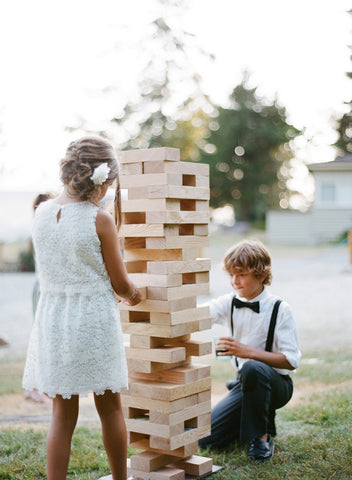 kid friendly wedding games