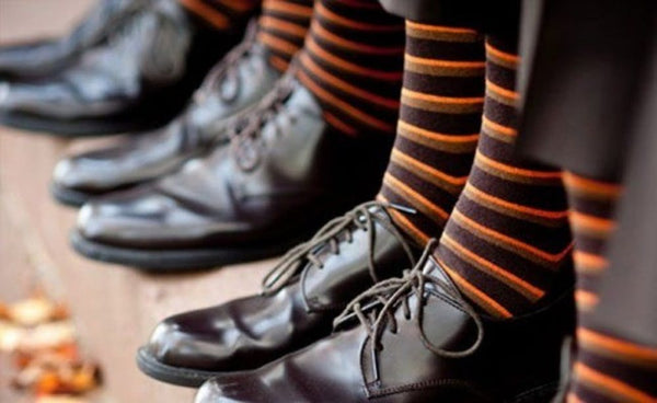 halloween wedding socks groomsman