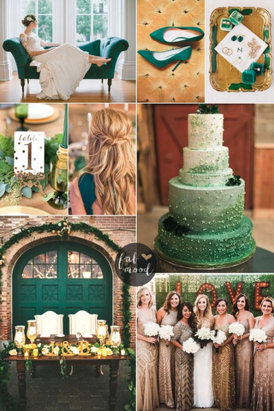 wedding color palette inspiration 2019 fall