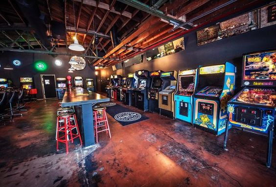 arcade bachelor party inspiration