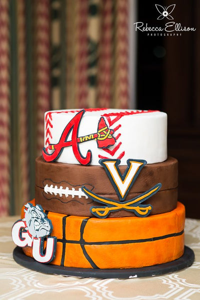 grooms cake sports teams
