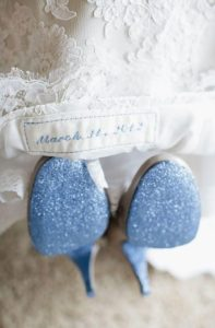 wedding superstition something blue