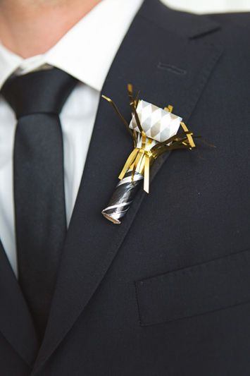 flower alternative boutonniere