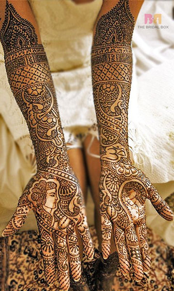 henna indian wedding traditions