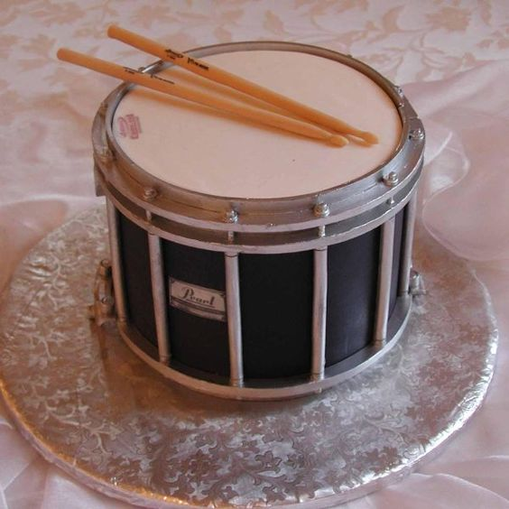 grooms cake drummer drum music lover