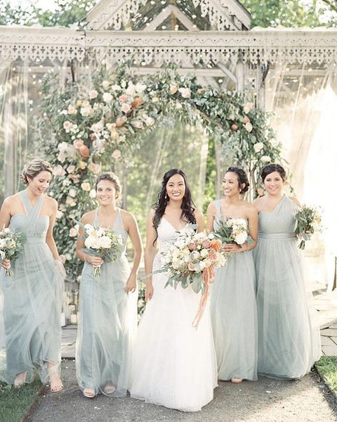 secret garden bridesmaid dresses greenhouse botanical wedding