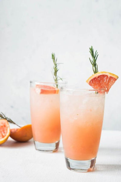 living coral wedding cocktail inspiration