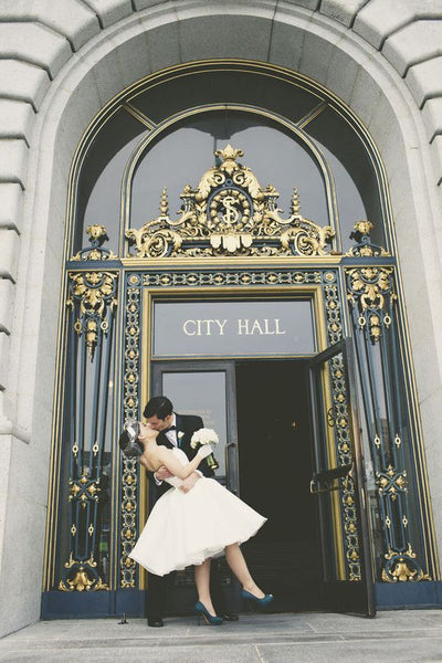 city hall wedding inspiration