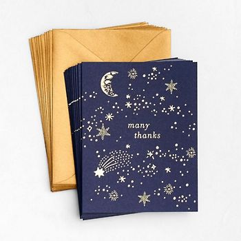 Galaxy Many Thanks Cards (Box Set of 10)
