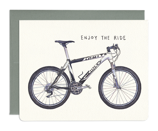 Enjoy the Ride Bike Card