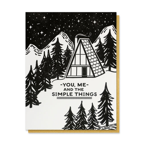 You Me & Simple Things Card