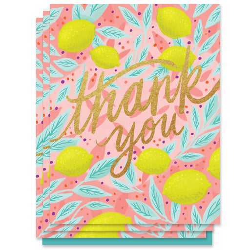 Lemons Thank You Card (Box of 6)