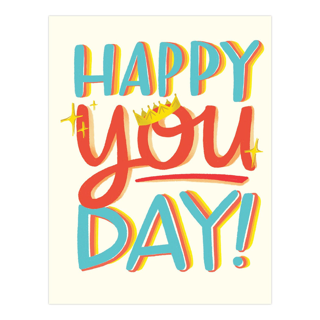happy you day birthday card