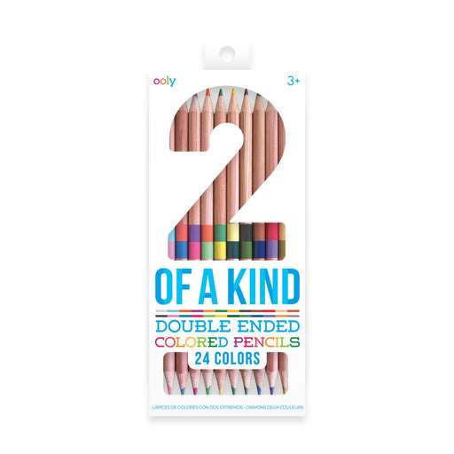 2 of a Kind Duo Double Ended Colored Pencils