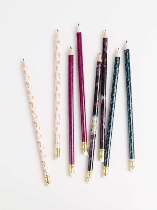 Fleuri Pencils (Pack of 8)
