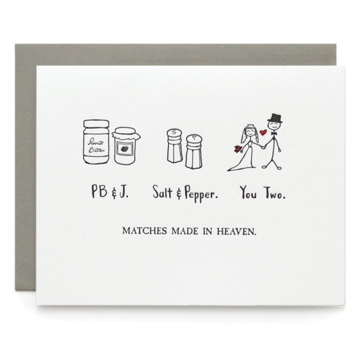 Matches Made in Heaven Card