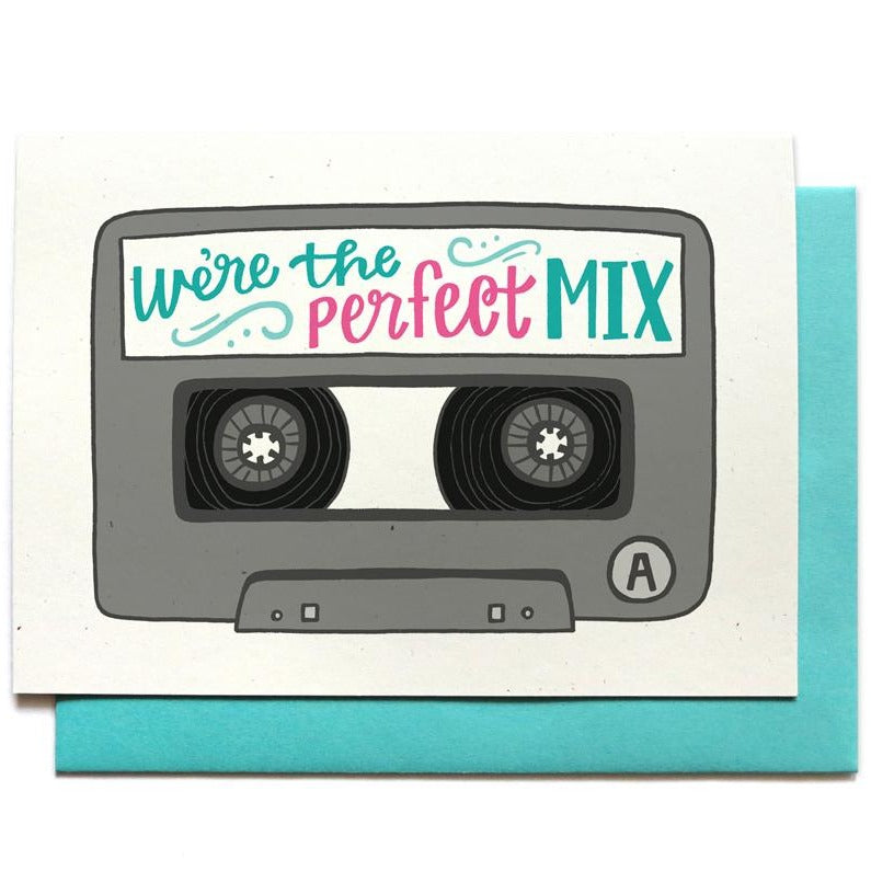 Perfect Mix Tape Love Card