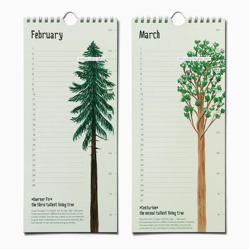 Epic Trees Birthday Calendar