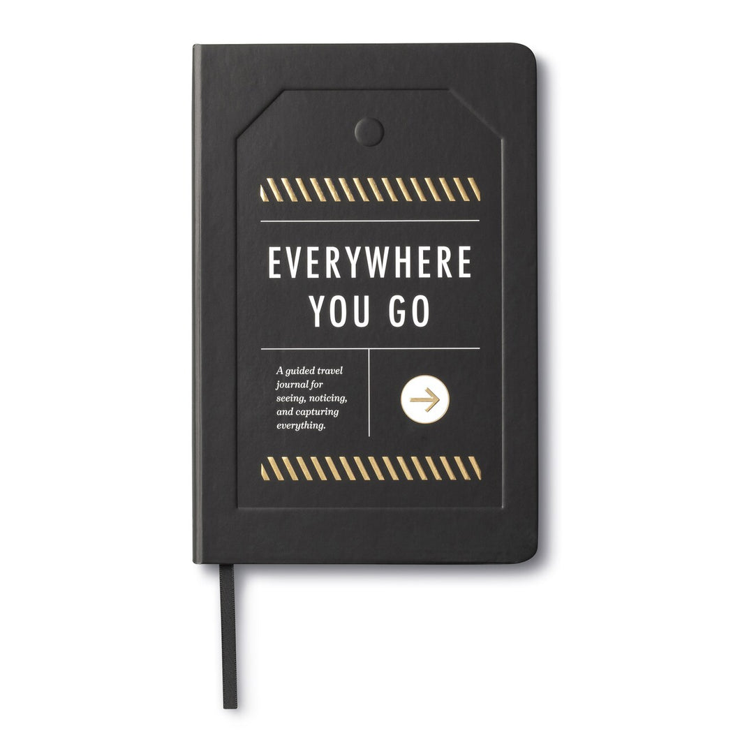 Everywhere You Go Travel Journal