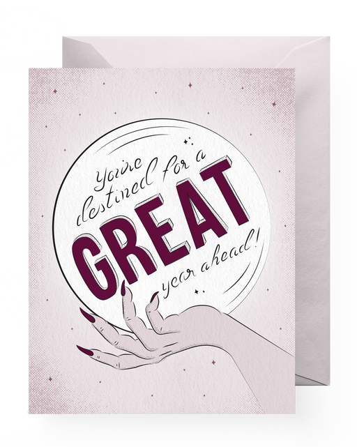 Great Year Ahead Card