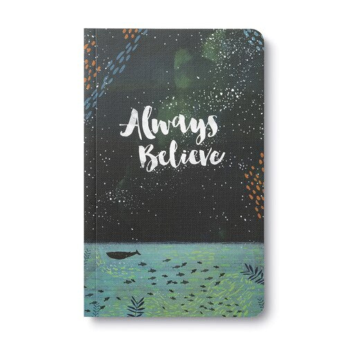 Always Believe Compendium Lined Journal