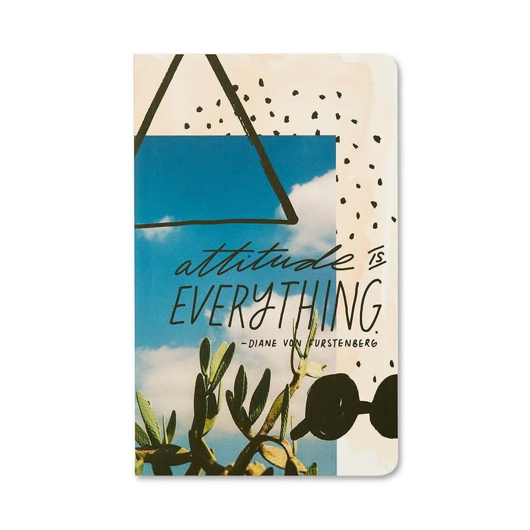 Attitude is Everything Compendium Lined Journal