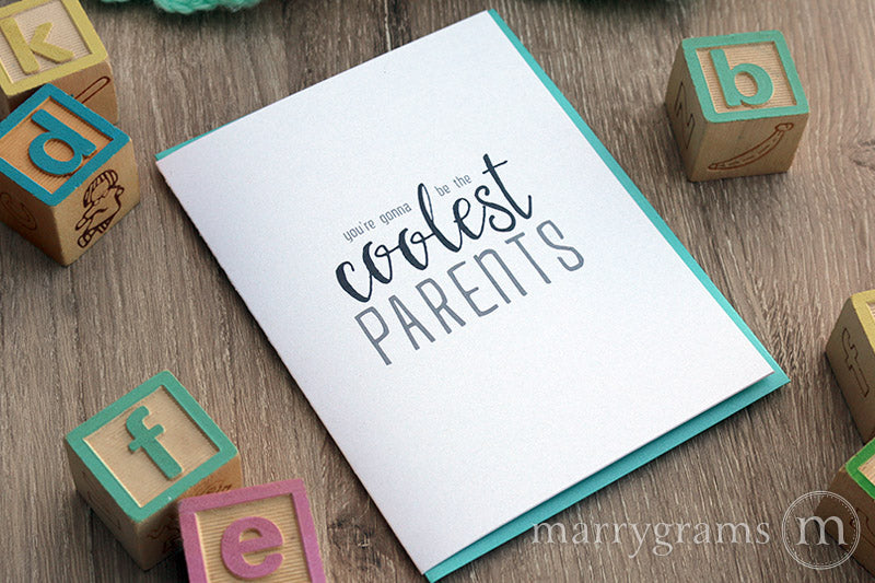 You're Gonna be the Coolest Parents, New Baby Card