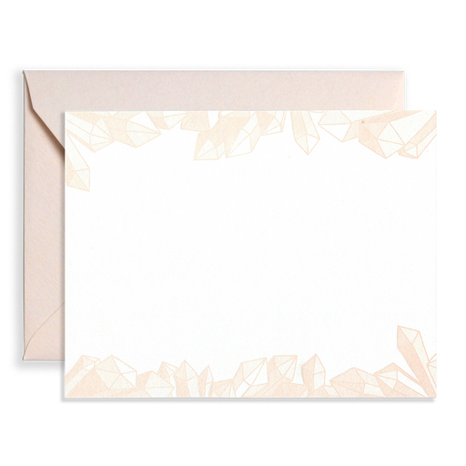 Gems Stationery Flat Note Box Set