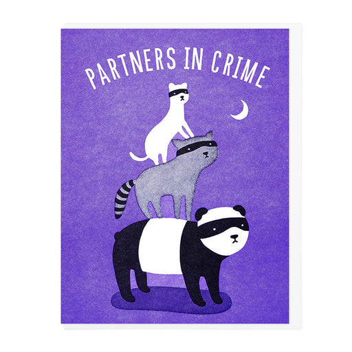 Partners in Crime Animal Bandit Card