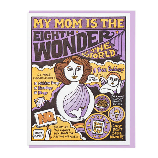 My Mom Is The Eighth Wonder Card