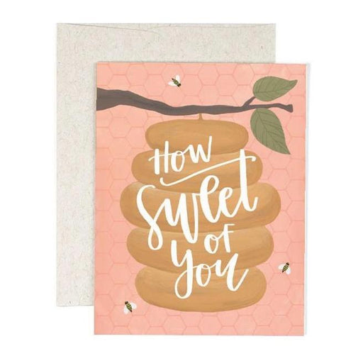 Sweet of You Beehive Card