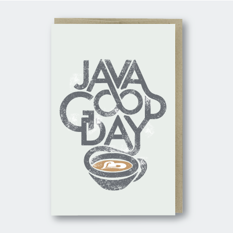 Java Good Day Card