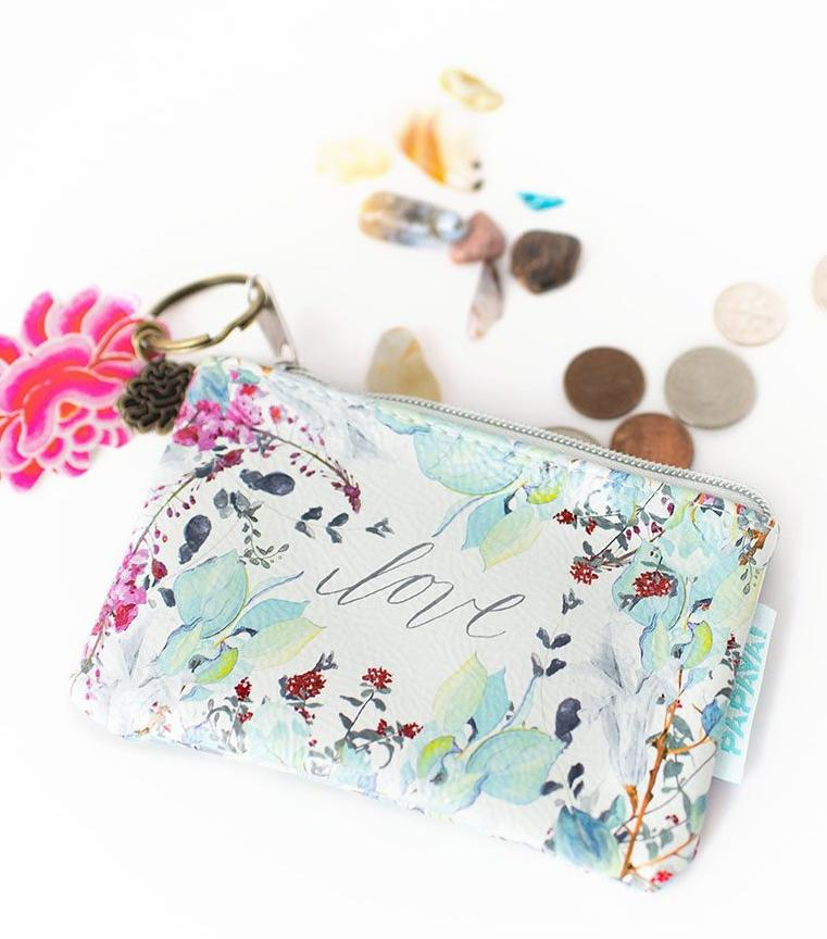 Love Floral Coin Purse
