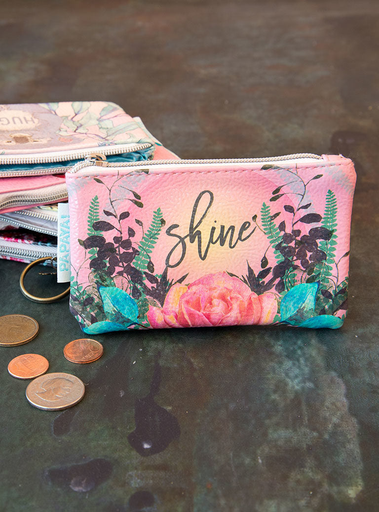 Natural Rose Coin Purse