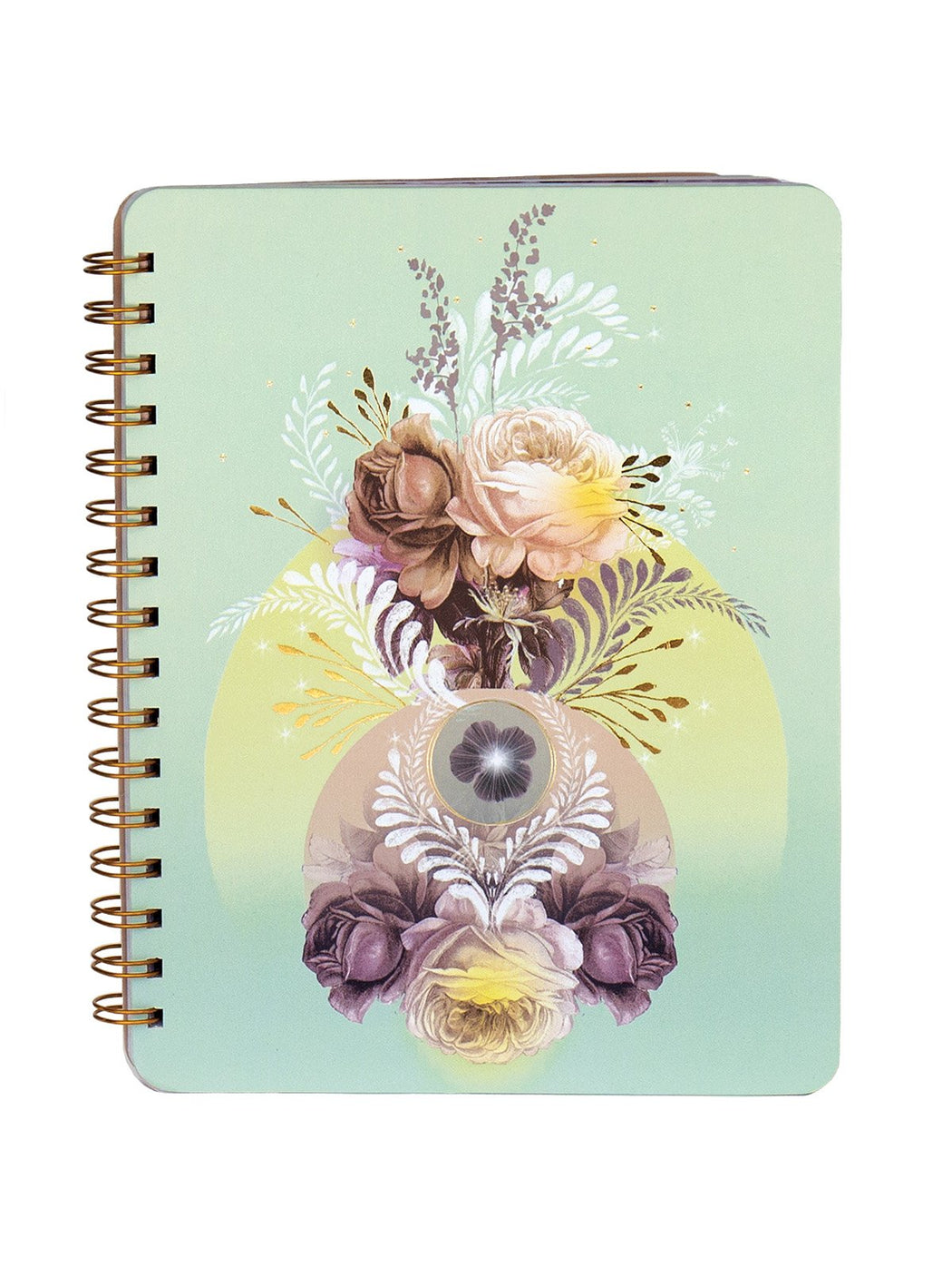 Solar Blooms Ring Notebook