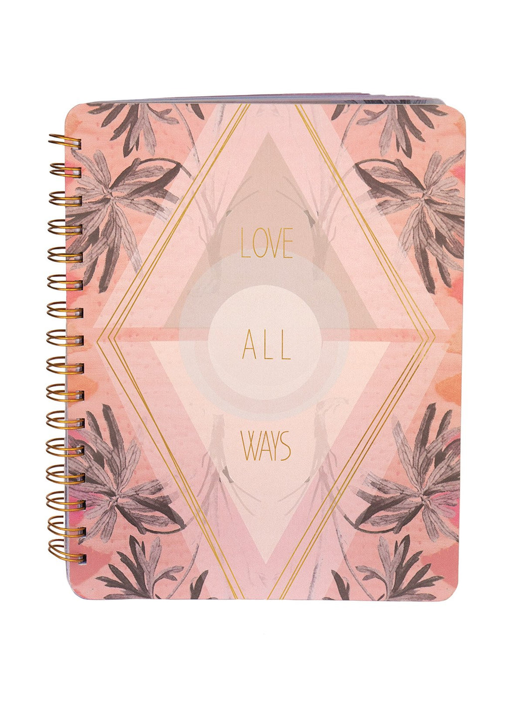 Love All Ways Ring Notebook