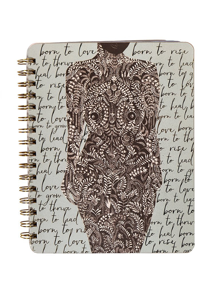 Living Woman Ring Notebook