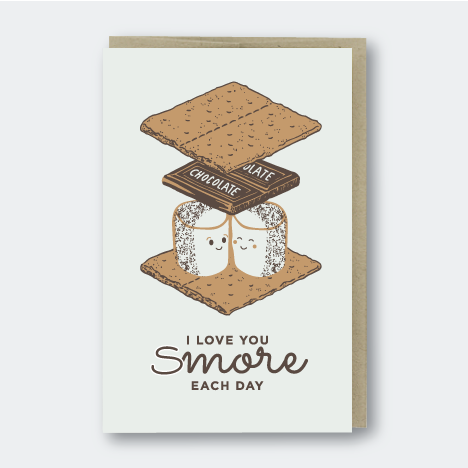 Love You Smores Card