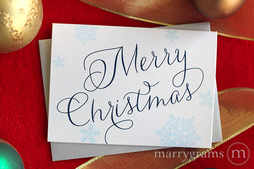 Scripted Merry Christmas Card