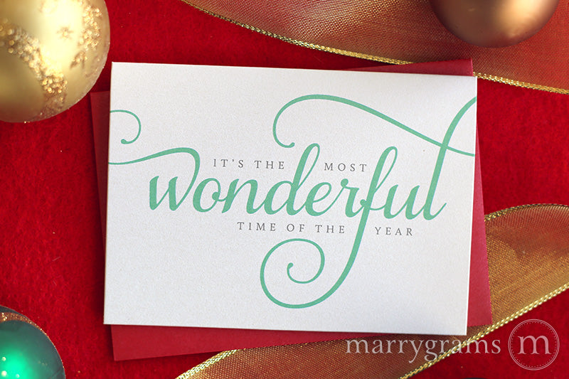 The Most Wonderful Time of the Year Holiday Card