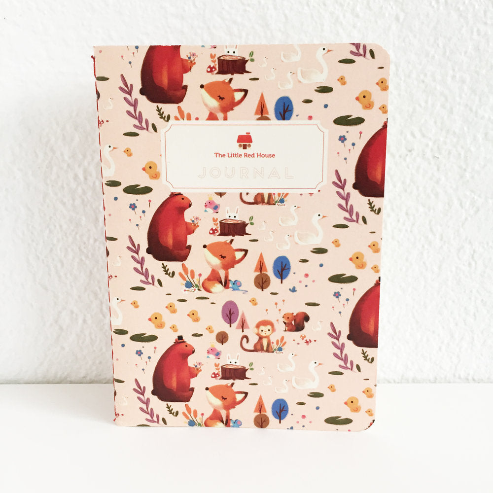Woodland Animals Pocket Journal