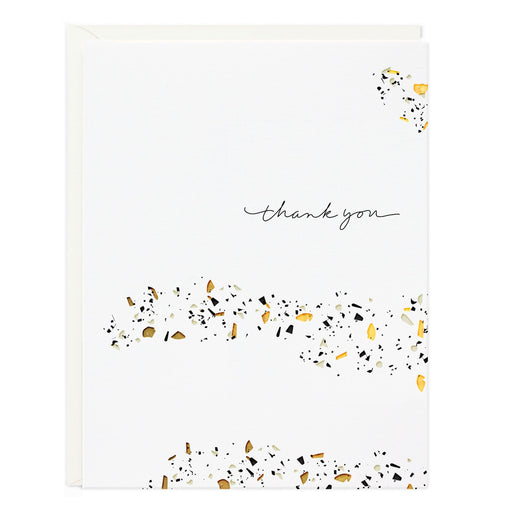 Thank You Confetti Terrazo Cards