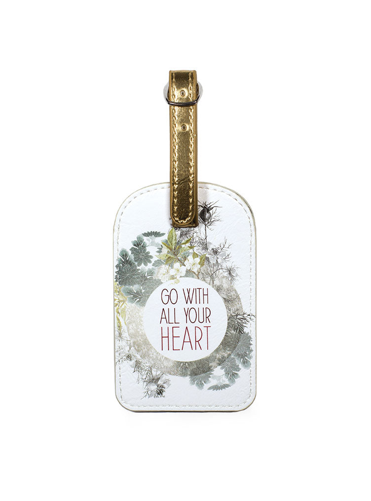 All Your Heart Luggage Tag