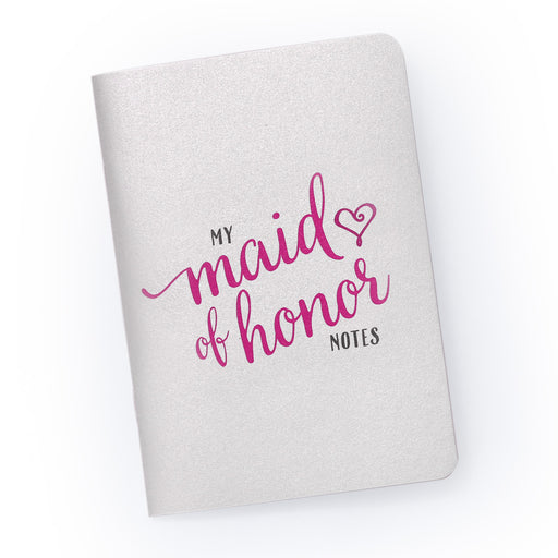My Maid of Honor Notes - Pocket Planning Notebook for Bridal Party