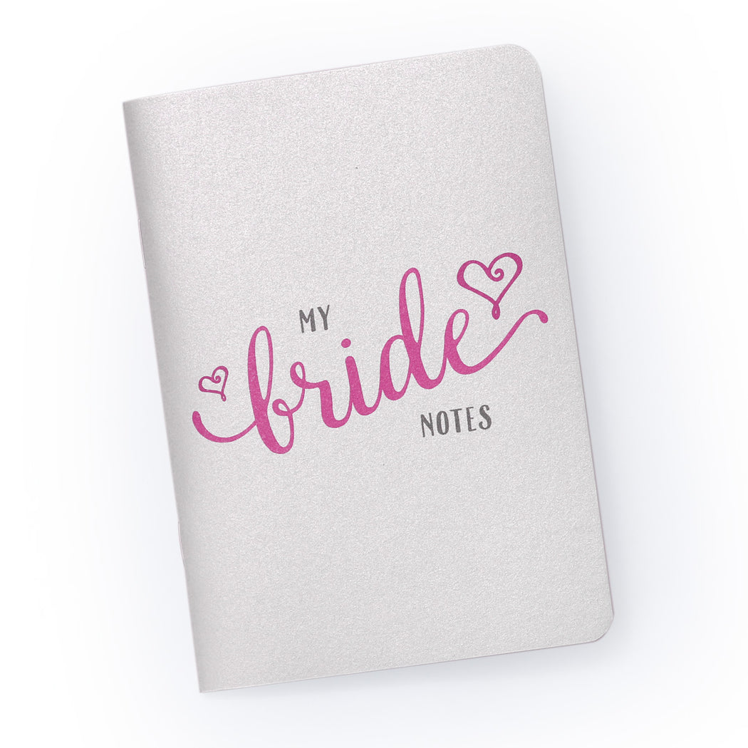 My Bride Notes Planning Notebook