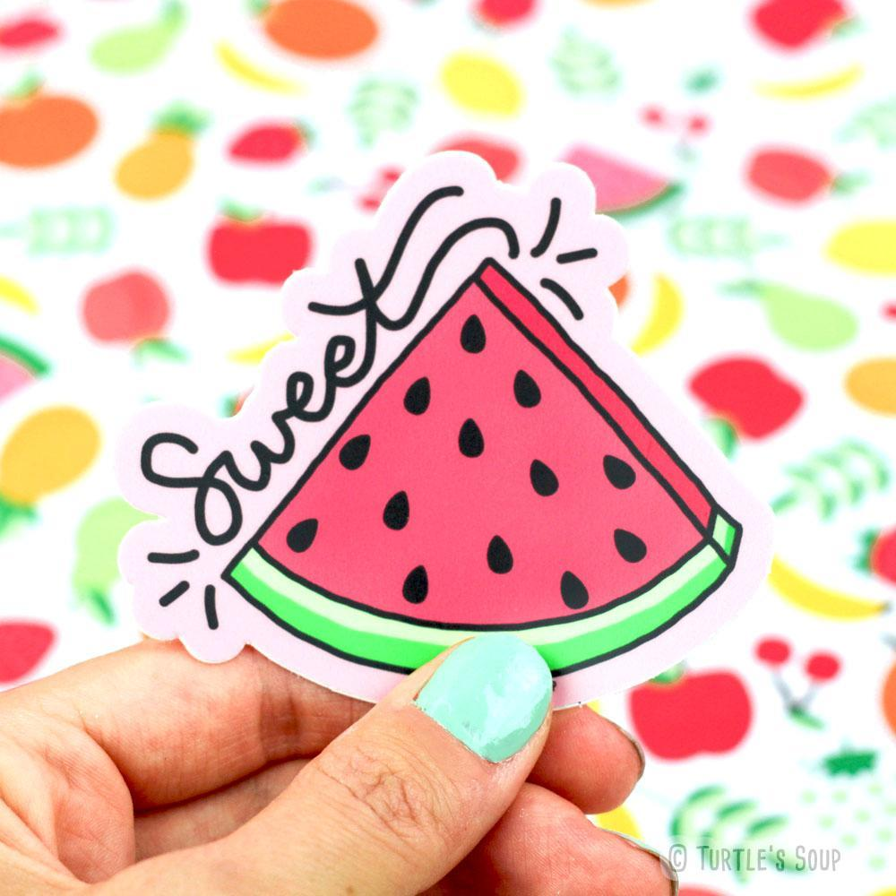 Sweet Watermelon Vinyl Sticker